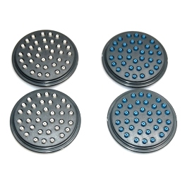 moda supreme forza shower head faceplaces