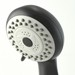 oil-rubbed bronze hand-held shower head