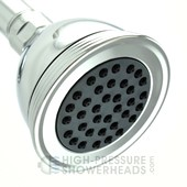 gray moda shower head