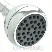 gray supreme shower head